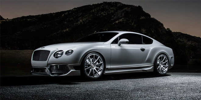 Тюнинг-ателье Vorsteiner представило еще один стайлинг для Bentley Continental GT