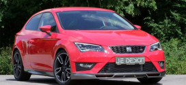 Тюнинг-ателье JE Design взялось за доработку SEAT Leon SC