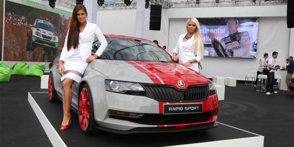 Информация о разработке купе на базе Skoda Rapid не подтвердилась
