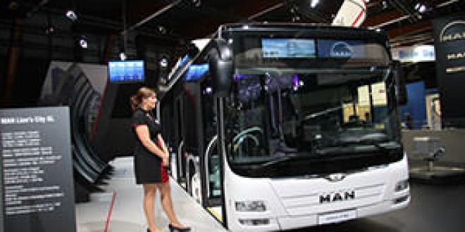 MAN представила на выставке Busworld Kortrijk 2013 новый низкополый автобус