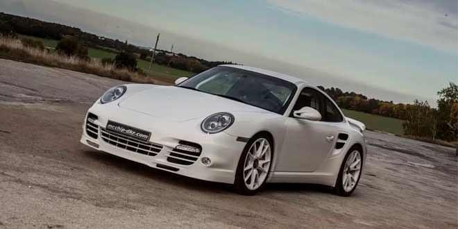 Тюнинг Porsche 911 Turbo S от ателье Mcchip-DKR
