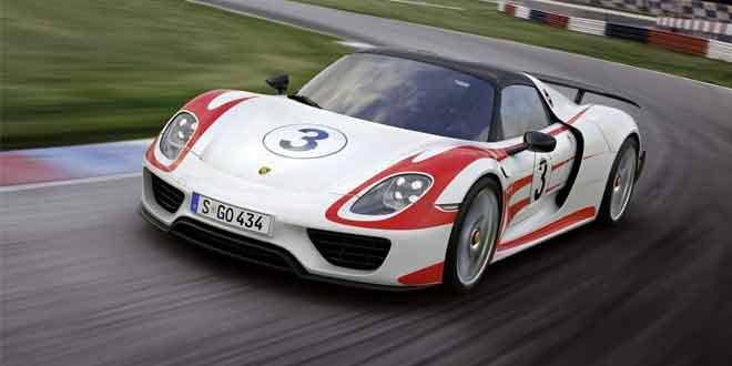 Porsche 918 Spyder стал ещё быстрее