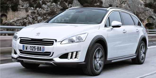В Украине начнутся продажи роскошного универсала Peugeot 508 RXH