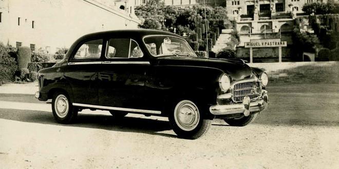 Первенец SEAT отмечает 60-летие