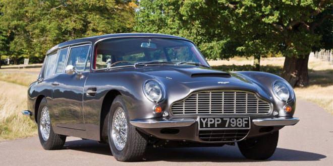На продажу выставлен редчайший Aston Martin DB6 Vantage Shooting Brake