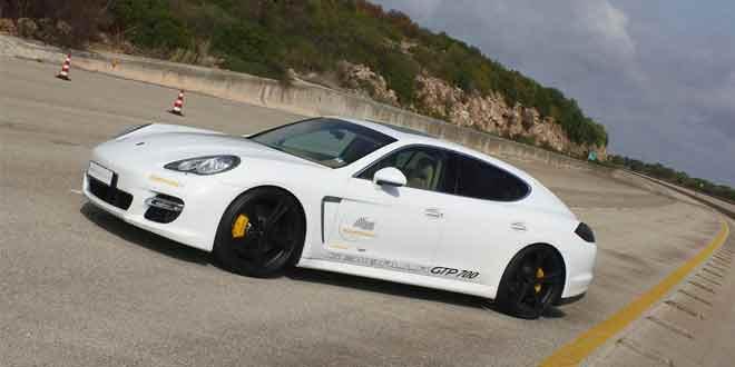 Четырехдверное купе Porsche Panamera стало быстрейшим автомобилем весом более 2 тонн