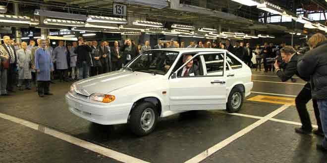 С конвейера АвтоВАЗа вышла последняя Lada Samara