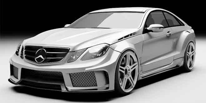Тюнинг-мастерская MEC Design представила прокачанный Mercedes-Benz E-Class Coupe