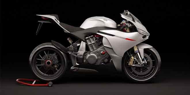 Представлен концепт мотоцикла Audi на разработках от Ducati 1199 Panigale