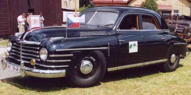 Skoda VOS: специальный правительственный автомобиль из 50-х