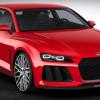 Audi представила концет Sport quattro с новыми лазерными фарами