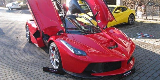 В Мюнхене продается LaFerrari с пробегом 200 км