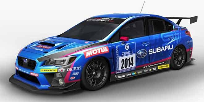 Вышла гоночная Subaru WRX STI 2015 модельного года