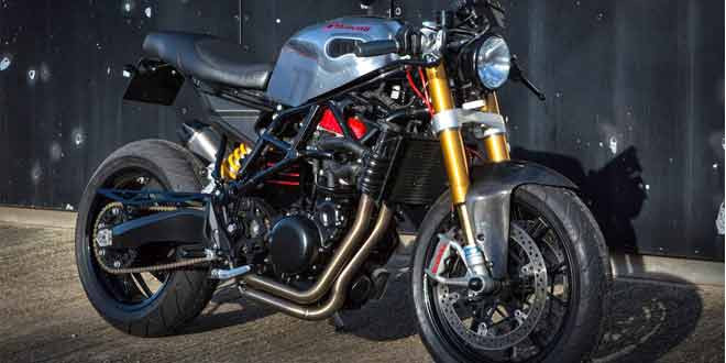 Кастом Huscati на базе компонентов от Husqvarna Nuda 900R и Ducati 1198S