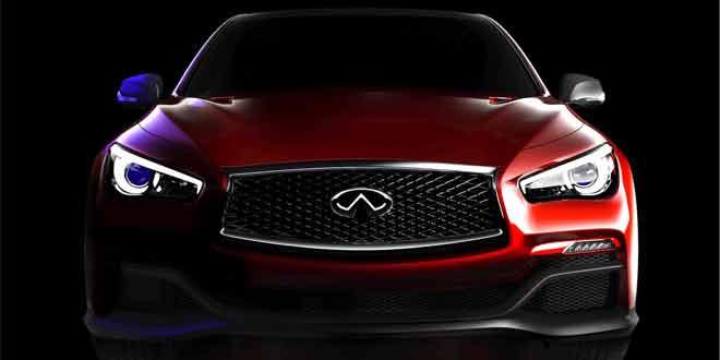 В Сеть просочились первые скетчи Infiniti Q50 Eau Rouge