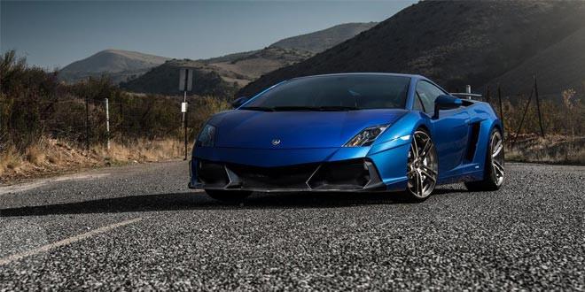Vorsteiner представил прощальный тюнинг Lamborghini Gallardo Renazzo
