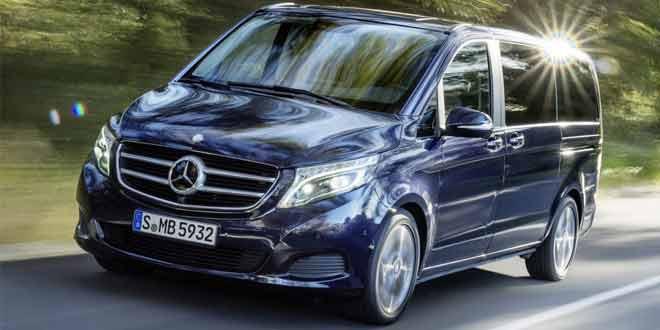 Официально представлен новый Mercedes-Benz V-class