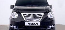 Nissan собирается выпускать лондонский кэб на базе минивэна NV200
