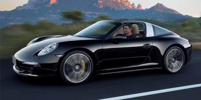 Дизайн Porsche 911 Targa раскрыт