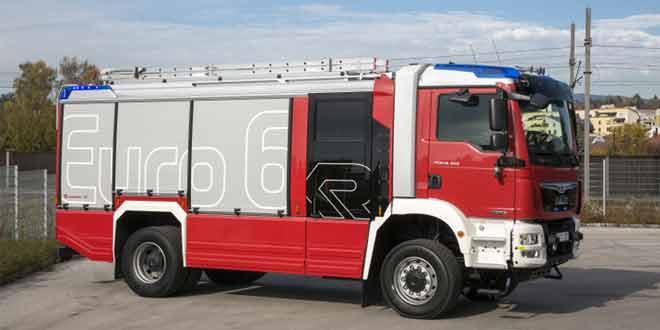 MAN выпустил первый в мире пожарный автомобиль стандарта Евро 6