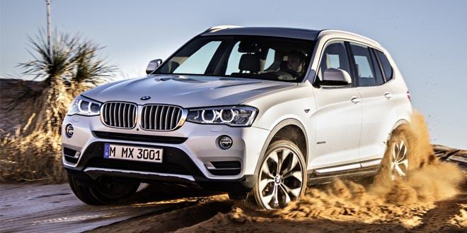 Представлен обновленный BMW X3