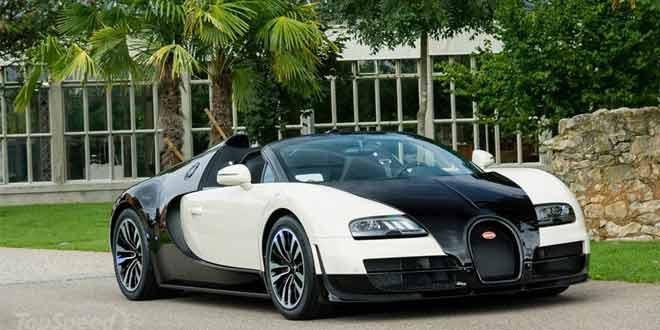 Серия «легендарных» Bugatti Veyron пополнилась еще двумя машинами