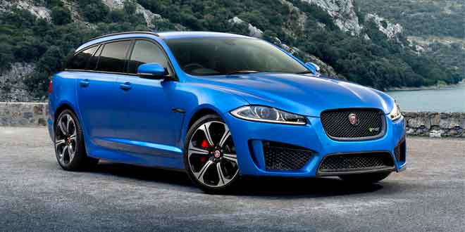 Jaguar XFR-S Sportbrake полностью рассекречен