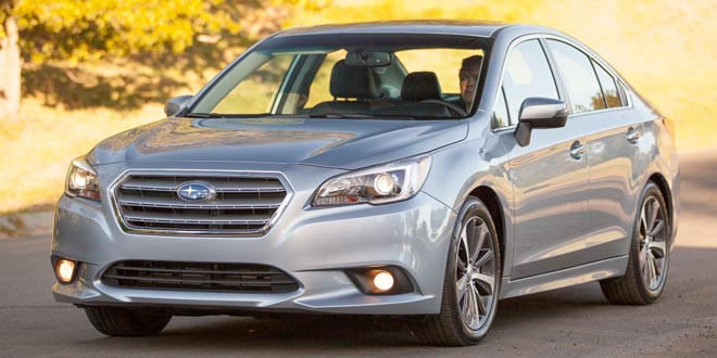 Вышло шестое поколение седана Subaru Legacy