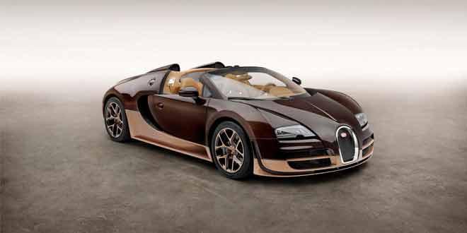 В серии «Legends» суперкара Bugatti Veyron пополнение