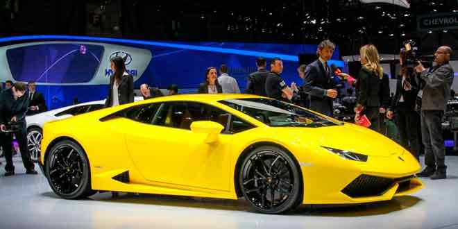 Новый «бык» от Lamborghini приехал в Женеву на первый публичный дебют