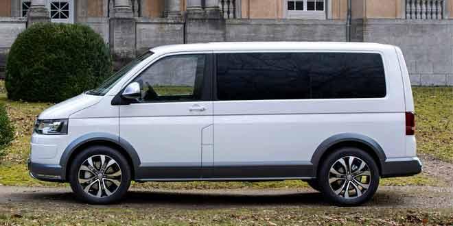 Volkswagen преобразил Multivan во «вседорожный грузовичок»