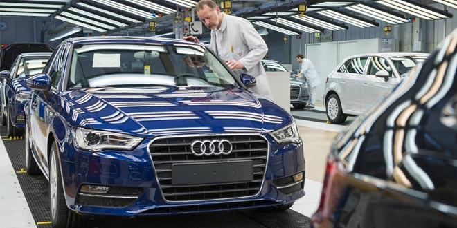 Фото-тур по заводу Audi в Ингольштадте