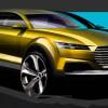 Audi показала первые тизеры концепта кроссовера Q4