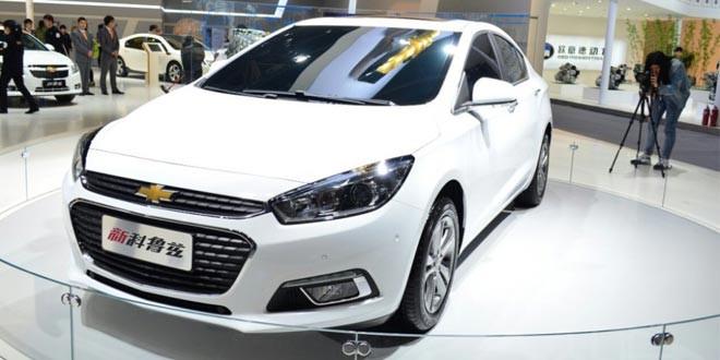 В Пекине засветился следующий Chevrolet Cruze