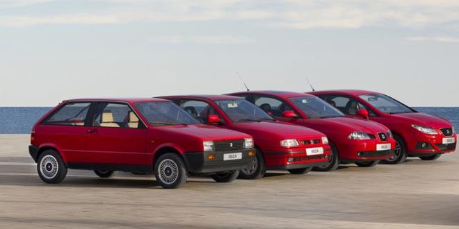 SEAT Ibiza празднует 30-летний юбилей