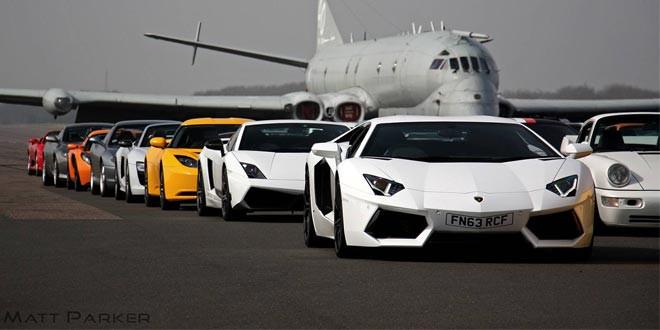 Фотографии с уникального события британского клуба владельцев суперкаров «Supercar Driver»
