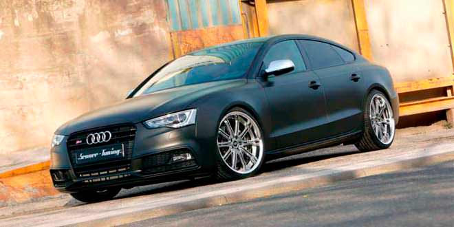 Компания Senner Tuning подготовила проект модернизации для Audi S5 Sportback