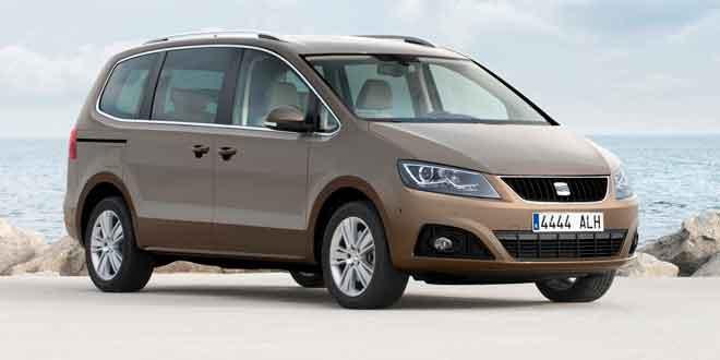 В Украине стартуют продажи SEAT Alhambra