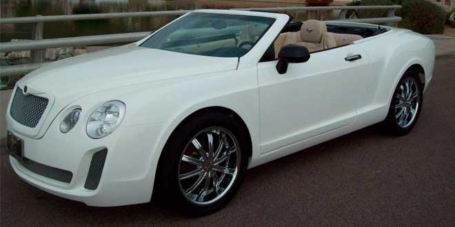 Почти Bentley Continental GTC на базе Chrysler Sebring