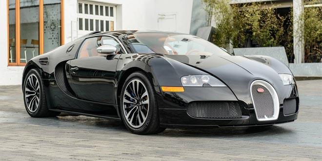 На продажу выставлен редкий Bugatti Veyron Sang Noir