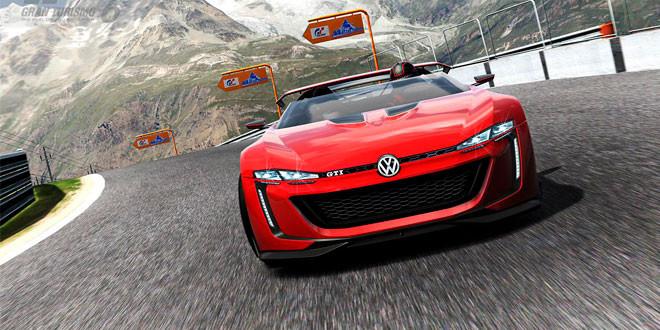 Гараж игры Gran Turismo 6 пополнил концепт VW GTI Roadster Vision