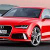 Компания Audi представила рестайлинговый вариант четырехдверного купе RS7