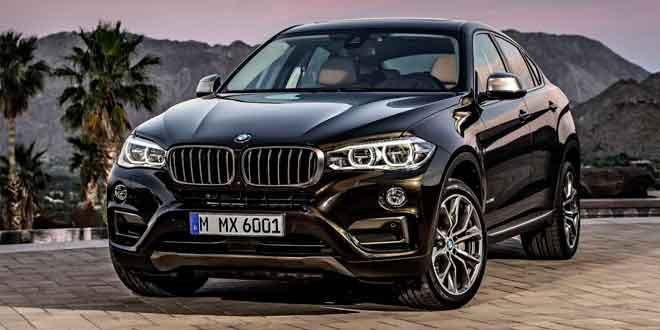 Рассекречено новое поколение кроссовера BMW X6