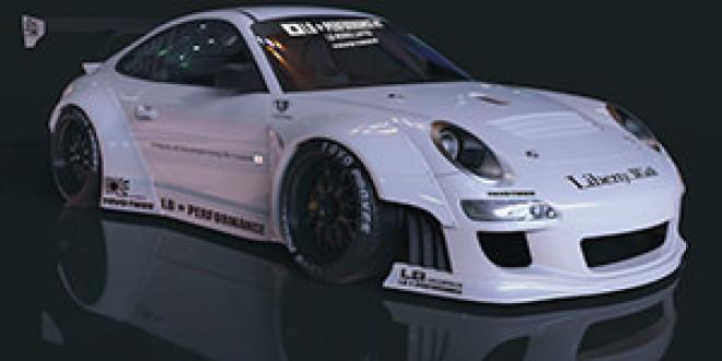 Японский тюнер Liberty Walk разрабатывает боди-кит для нового поколения Porsche 911