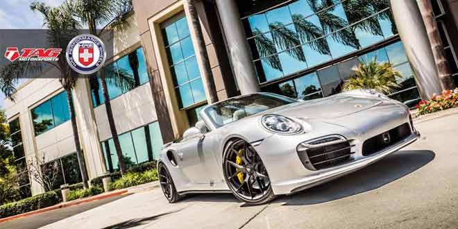 Американское ателье TAG Motorsports прокачало кабриолет Porsche 911 Turbo S