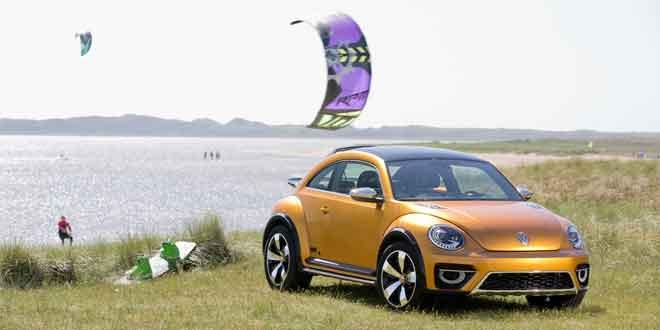 Volkswagen может запустить «вседорожный» Beetle в серию