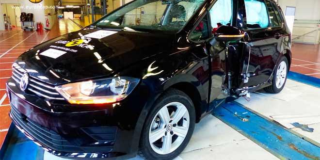 Euro NCAP провёл краш-тест Volkswagen Golf Sportsvan и ещё нескольких свежих моделей