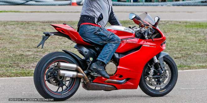 Скоро выйдет обновленный Ducati 1199 Panigale R
