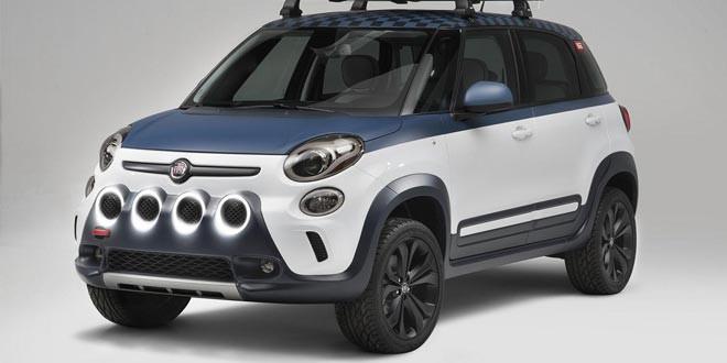 Fiat выпустил автомобиль для серферов