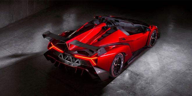 Lamborghini продает последний родстер Veneno за 7,6 млн долл.